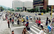 cyclovia Bogota Colombia