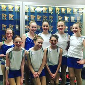 EHS Twirl Team Performs in January