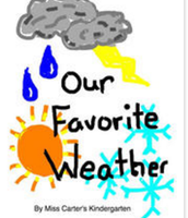 Book Creator Project on Weather