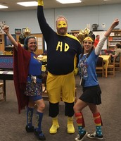 Superheroes Unite!!