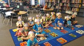 Kindergarten story time.