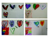 Jim Dine Heart Art