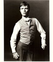 David Bowie as the Elephant man