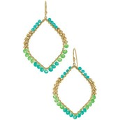 Raina Earrings-Turquoise
