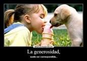 generosidad (: