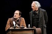 Ebinezer Scrooge and bob crachet