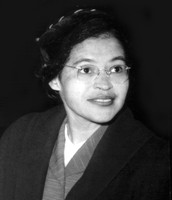 This is Rosa Parks My Untouchable Hero.
