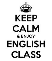 Im good at english