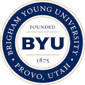 #1 BYU Provo, Utah