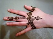 Se haran los famosos tatuajes temporales de Henna