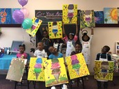ABK KIDS  BIRTHDAY PARTY LOVE THEIR FACES!! AWESOME