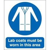 Wear apron