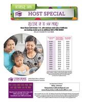 October Host Special