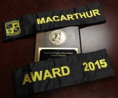 Eagles Win Third MacArthur Award