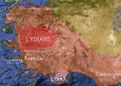 The Lydians were people living in Lydia, a part of Western Antolia.