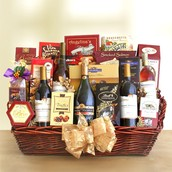 Our Exquisite Wine Baskets!