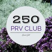 $250+ PRV