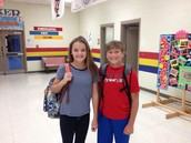 Student Council Assists with Drop-Off