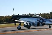 american P-51 mustang
