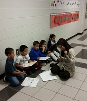 One of our 24 Subs on 12/4 got really involved with her small group.