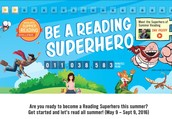 Be a Reading Superhero