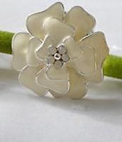 Bloom Flower Ring, adjustable