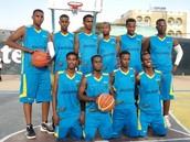 Somali basketball team