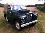 1960 LAND ROVER SERIES 2 88in