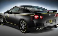 Black & yellow Nissan