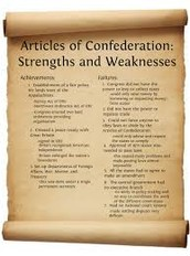Strengths of the Articles of Conderation