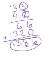 How to Multiply Decimals: Step 3
