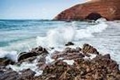 The shore of the North Atlantic Ocean