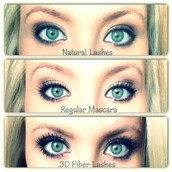 let's compare $24 department store mascara and younique's 3d fiber lash mascara.