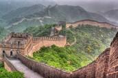 Great Wall at Mutianyu in Beijing
