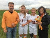 Girl's Soccer Senior Night