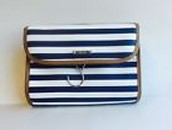 Hang On Travel Case - Navy Stripe