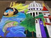 Boise Chalk Art Festival 2014