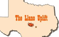 Location of Llano Uplift in Texas