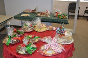 Thank you for your Bake Sale items!