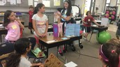 Creative 3rd Graders at Work!