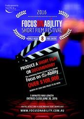 2016 Focus on Ability Short Film Festival