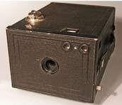 Early Rolled film camera
