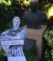 Booker T Washington Bust