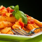 Verliefde pasta...