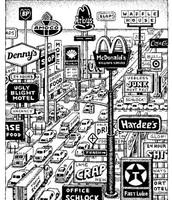 Sprawl of stores