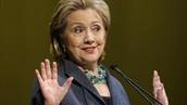 1) Hillary Clinton