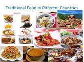 Example of foods from around the world