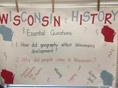 Social Studies Focus:  Wisconsin History