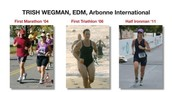Trish - triathlete, sheds excess weight for her best 1/2 Ironman yet