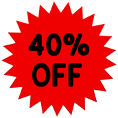 40% OFF YOUR NEXT PURCHASE